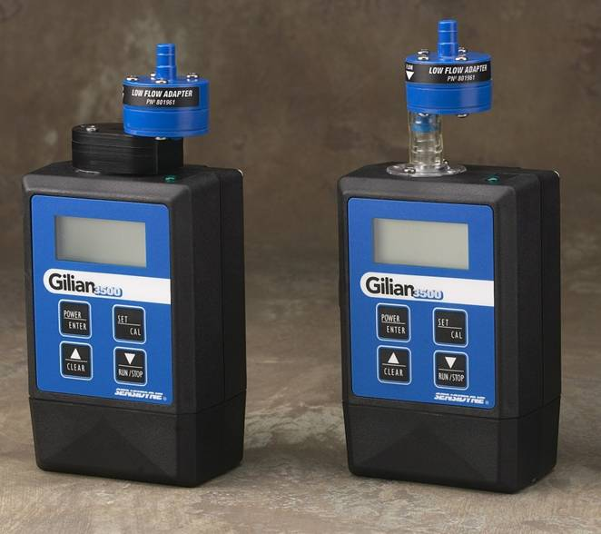 Gilian 3500 and 5000 Low Flow Adapter