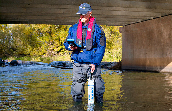 Hydrolab DS5X - Multiparameter Data Sonde